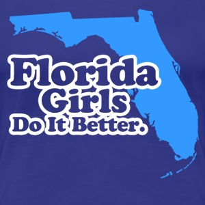 florida girls Women's T-Shirts - Women's Premium T-Shirt