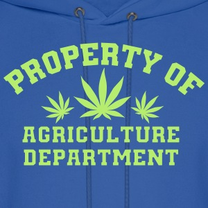 Property Of Agriculture Department - Men's Hoodie