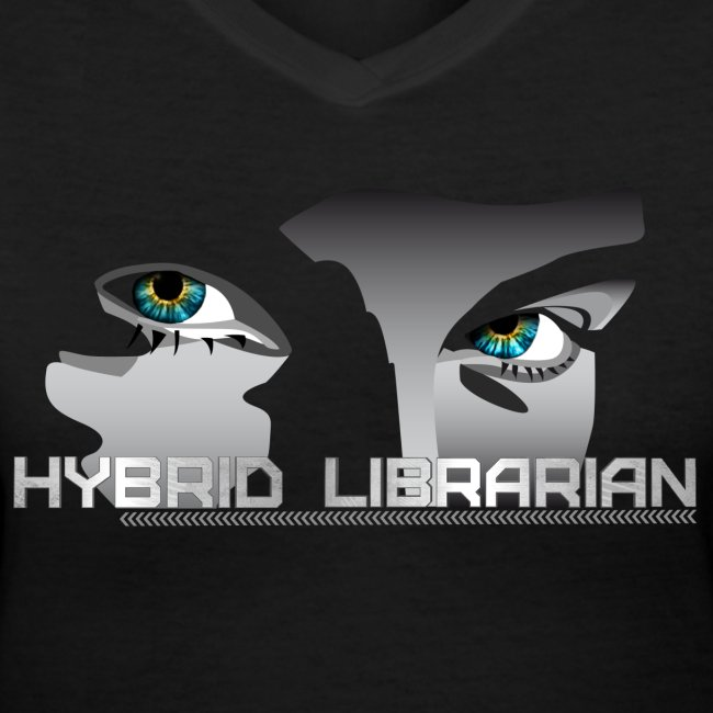 """Hybrid Librarian"" Womens T-Shirt"