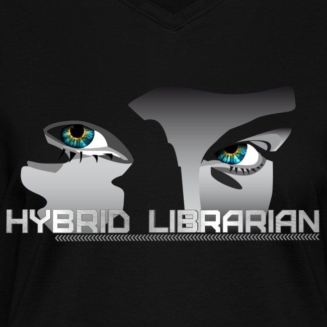 """Hybrid Librarian"" Womens T-Shirt"