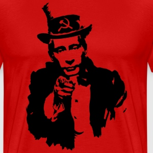 I WANT YOU - Vladimir Putin Shirt - Men's Premium T-Shirt