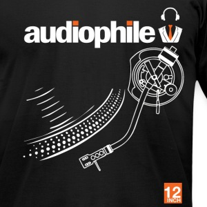 audiophile T-Shirts - Men's T-Shirt by American Apparel
