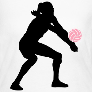 Volleyball  Long Sleeve Shirts - Women's Long Sleeve Jersey T-Shirt