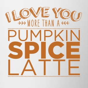 Pumpkin Spice Bottles & Mugs - Contrast Coffee Mug