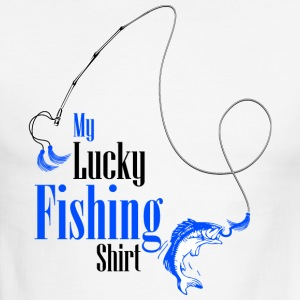 My Lucky Fishing Shirt - Men's Ringer T-Shirt