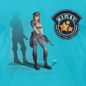 Super Replay - Resident Evil - Men's T-Shirt by American Apparel