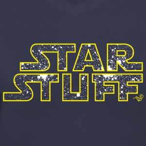 STAR STUFF by Tai's Tees - Women's V-Neck T-Shirt