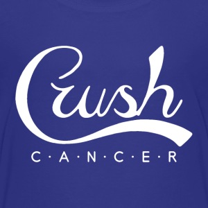Crush Cancer White Kids' Shirts - Kids' Premium T-Shirt