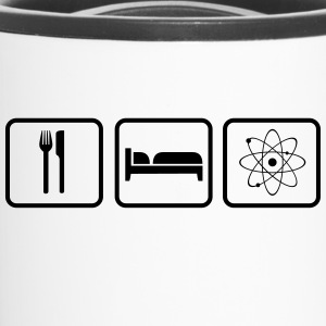 Eat Sleep Science Bottles & Mugs - Travel Mug