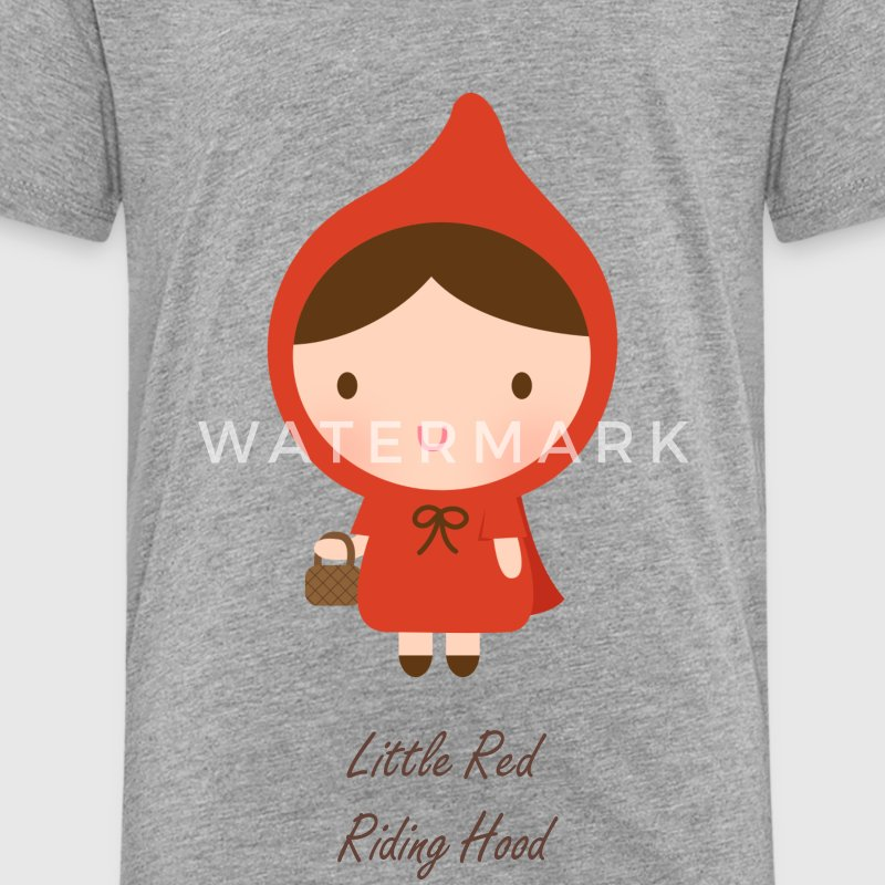 cute little red riding hood Baby & Toddler Shirts - Toddler Premium T-Shirt