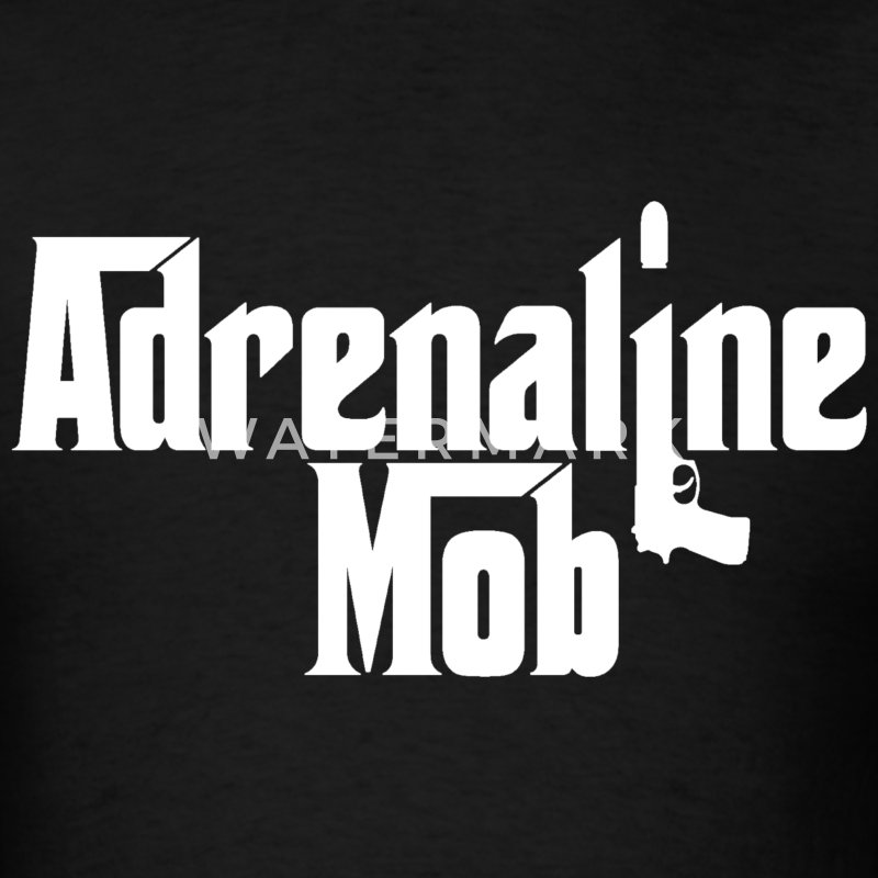 adrenaline mob - Men's T-Shirt
