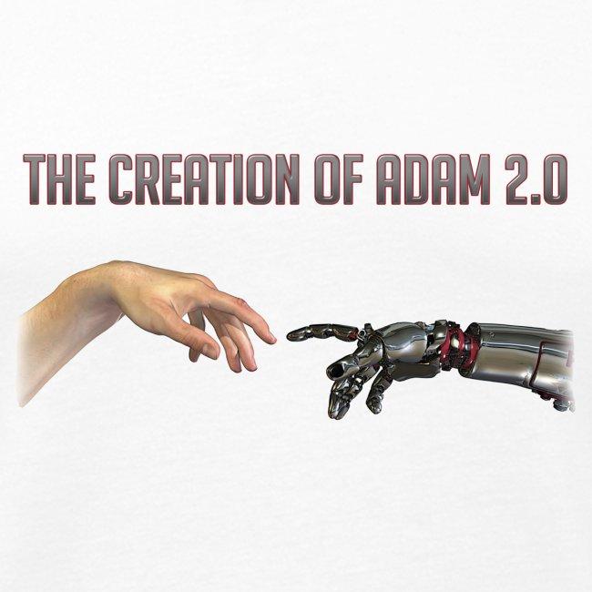 "Hybrid Librarian's ""Creation of Adam 2.0"" Men's Tank Top"