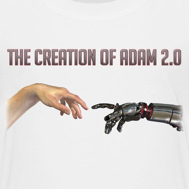 "Hybrid Librarian's ""Creation of Adam 2.0"" Kids T-Shirt"