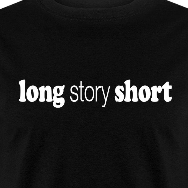 Long Story Short white type