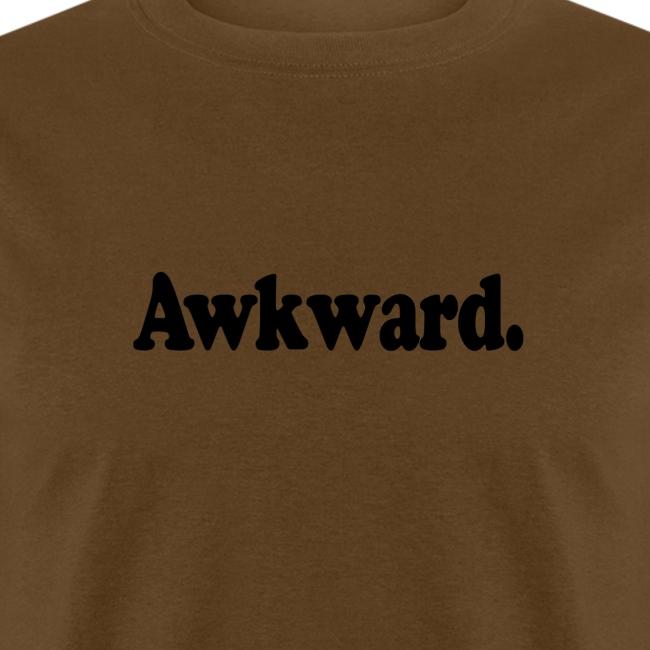 Awkward. (black type)