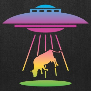 Alien UFO (Rainbow) Bags & backpacks - Tote Bag