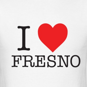 I Heart Fresno T-Shirts - Men's T-Shirt