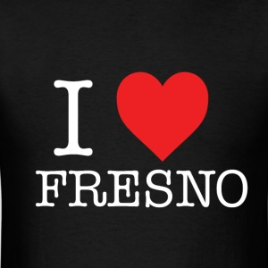 I Heart Fresno - White T-Shirts - Men's T-Shirt