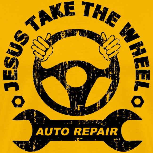 Jesus Take the Wheel Tee