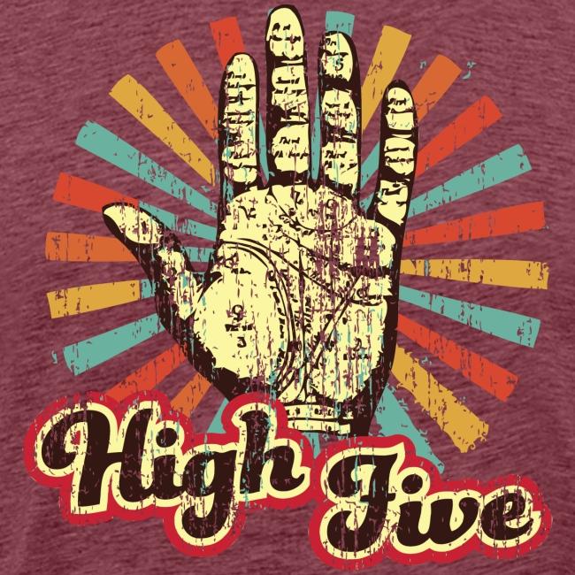 High Five Vintage Tee
