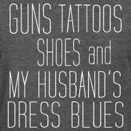 Design ~ Guns, Shoes (T-Shirt)