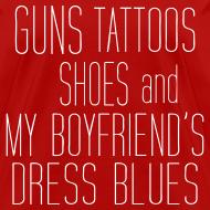 Design ~ Guns, Shoes (T-Shirt) Boyfriend