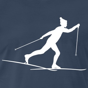 Cross country skiers Cross country Shirt - Men's Premium T-Shirt