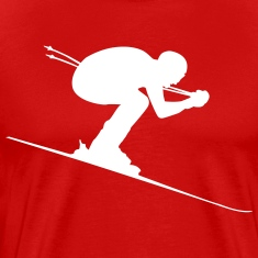 Downhill Skier Ski Alpin Shirt
