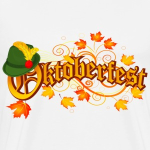 Oktoberfest orange logo - Men's Premium T-Shirt