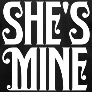 shes_mine T-Shirts - Men's T-Shirt by American Apparel