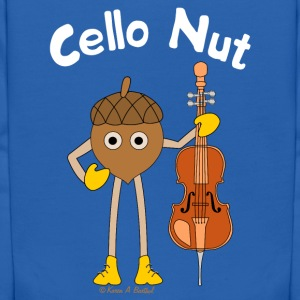 Cello Nut White Text Sweatshirts - Kids' Hoodie