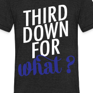 Design ~ Blue: Third Down for What?