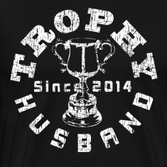 Trophy Husband Since 2014 T-shirt