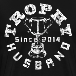Trophy Husband Since 2014 T-shirt - Men's Premium T-Shirt
