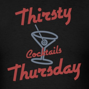 Retro Thirsty Thursday T-Shirts - Men's T-Shirt