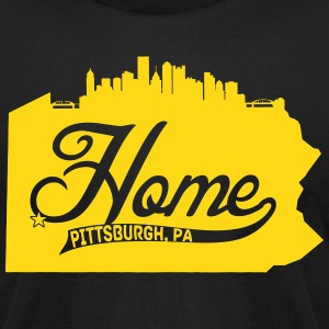 Home T-Shirts - Men's T-Shirt by American Apparel