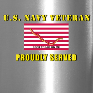 US Navy Veteran Travel Mug - Travel Mug