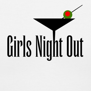 Girls Night Out Women's T-Shirts - Women's V-Neck T-Shirt