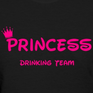 Drunk Princess  Women's T-Shirts - Women's T-Shirt