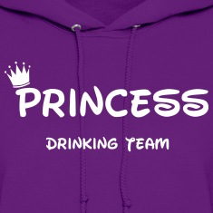 Drunk Princess  Hoodies