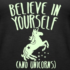 Believe in yourself (and unicorns!) Tanks