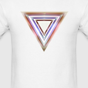 Blurred Triangle - Men's T-Shirt