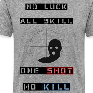 ONE SHOT NO KILL regular T - Men's Premium T-Shirt