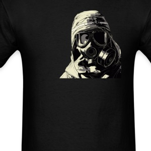 Gas Mask v3 - Men's T-Shirt