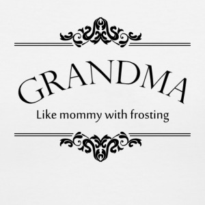 Grandma, Like Mommy With Frosting Women's T-Shirts - Women's V-Neck T-Shirt