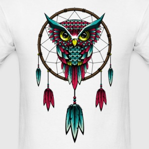 Owl Dream Catcher - Men's T-Shirt