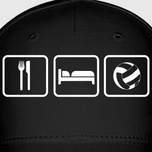 Eat Sleep Volleyball Caps - Baseball Cap