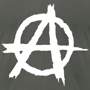 Anarchy T-Shirts - Men's T-Shirt by American Apparel