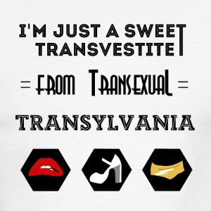 Sweet Transvestite - Men's Ringer T-Shirt