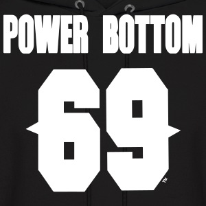 POWER BOTTOM 69™ Hoodies - Men's Hoodie